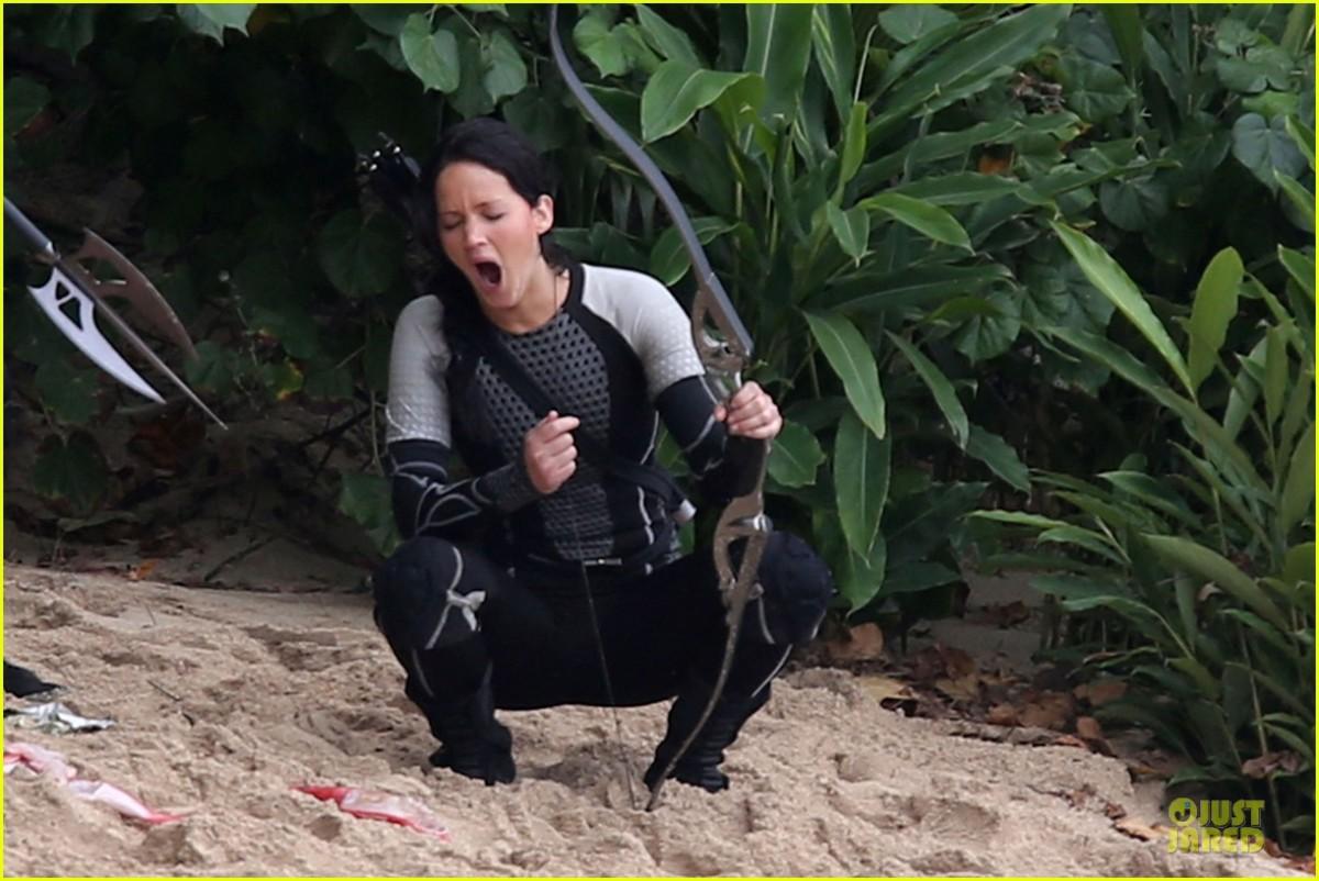 Jennifer Lawrence, gênée par des crises de colique sur le tournage du film.
